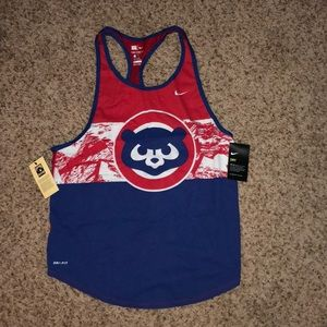 NWT Nike Adrienne-Fit Cubs Tank